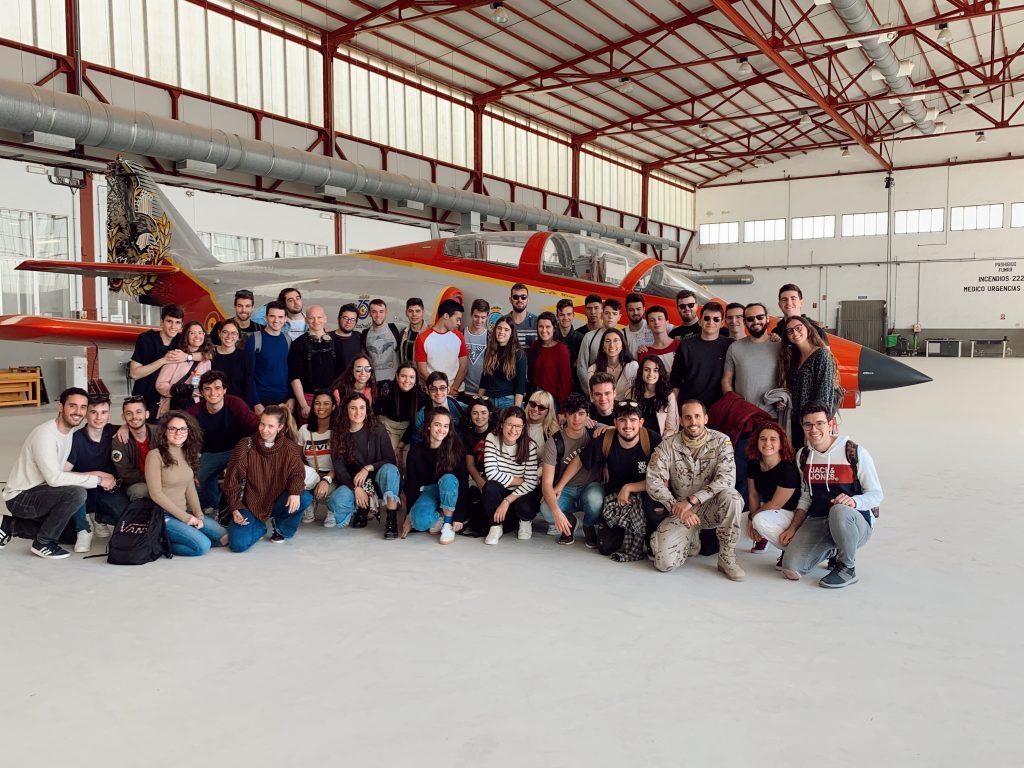 Visita a la Academia General del Aire