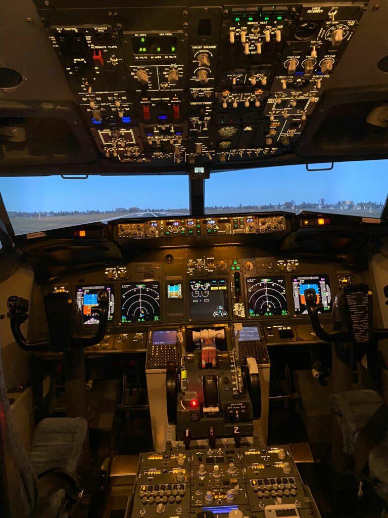 Simuladores de vuelo